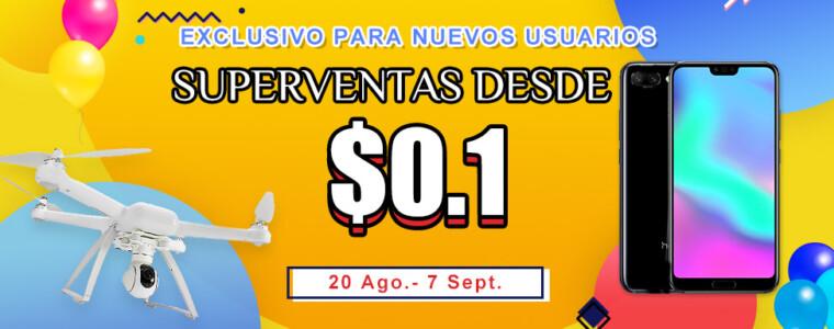 Ofertas exclusivas de $ 0.1, 2xCrecimiento para nuevos usuarios