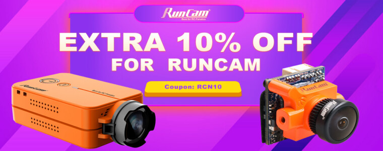 Collection Runcam Hot Camera-Extra 10% Off Coupon: RCN10