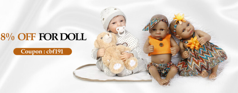 Collection Reborn Baby Doll &Accessories    12th Anniversary   up to 17% off