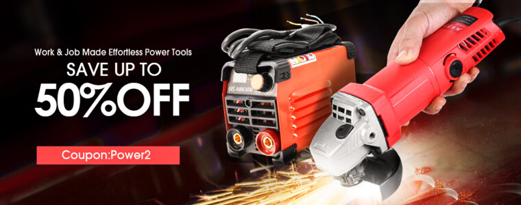 Collection 12%OFF!!! Work&Job Made Effortless Power Tools With Code:Power2