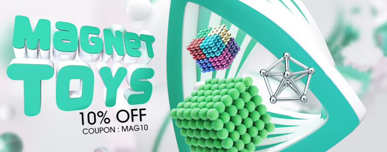 Collection Magnet Toys 12th Anniversary UP TO 50% OFF