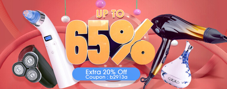 Collection Beauty Products Sales Promotion    12th Anniversary    up to 65% off