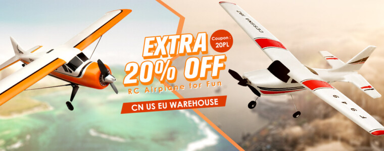 RC Airplane   12th Anniversary   UP TO 56% OFF