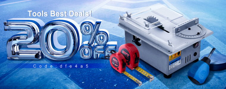 Collection Tools Big Deals 20%OFF Code:dfe4a5  12th Anniversary UP TO 61% OFF