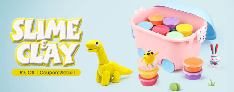 Collection Clay & Slime   UP TO 36% OFF