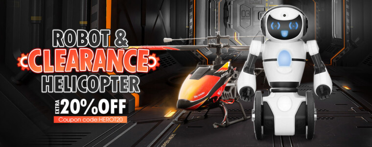 Collection Heli & Robot Clearance          UP TO 48% OFF