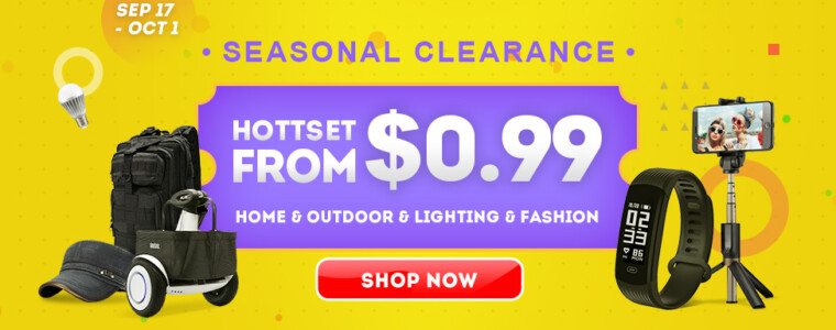 Deals From $0.99 in Fashion Seasonal Clearance Sale  UP TO 80% Off