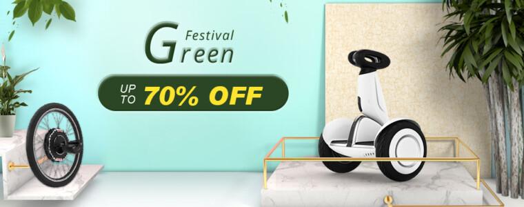 Green Festival Max 75% OFF