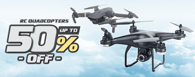 Collection RC Drones Promotion  UP TO 50% Off