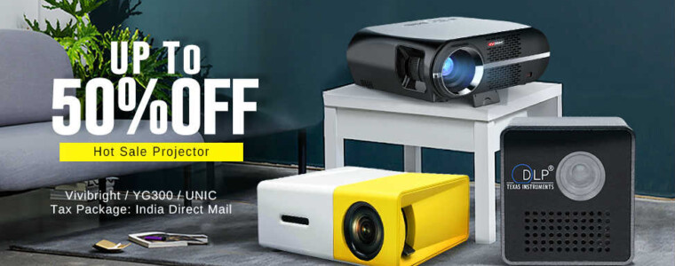 Collection Projector Special Page      UP TO 50% OFF