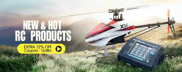 12% off For NEW and Hot RC Products UP TO 33% Off