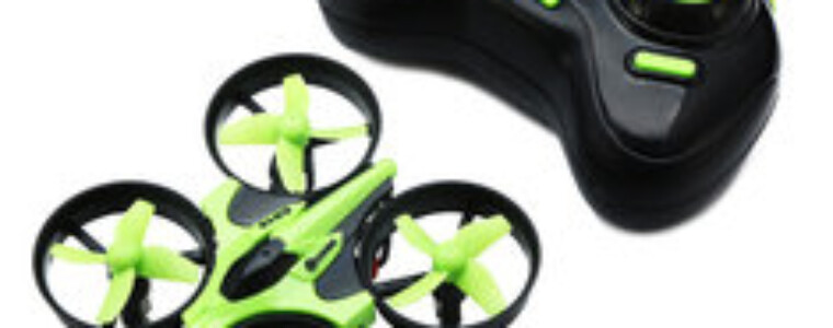 Eachine E010 Mini 2.4G 4CH 6 Axis Headless Mode RC Drone Quadcopter RTF 12th AnniversaryUP TO 52% Off