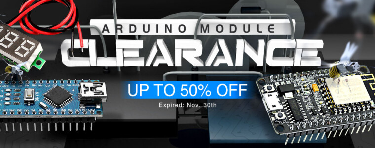 Collection Arduino Module Clearance Page  UP TO 50% OFF