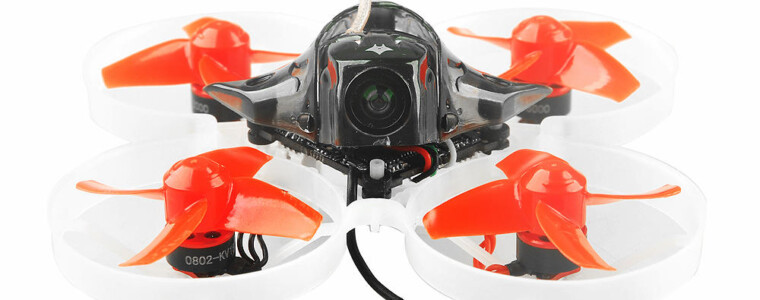Happymodel Mobula7 75mm Crazybee F3 Pro OSD 2S Whoop FPV Racing Drone w/ Upgrade BB2 ESC 700TVL BNF Sale