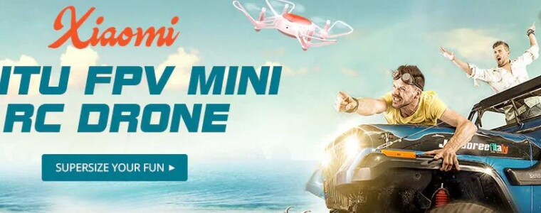 Xiaomi Mitu FPV Mini RC Drone Flash Sale from $79.00      UP TO 61% OFF