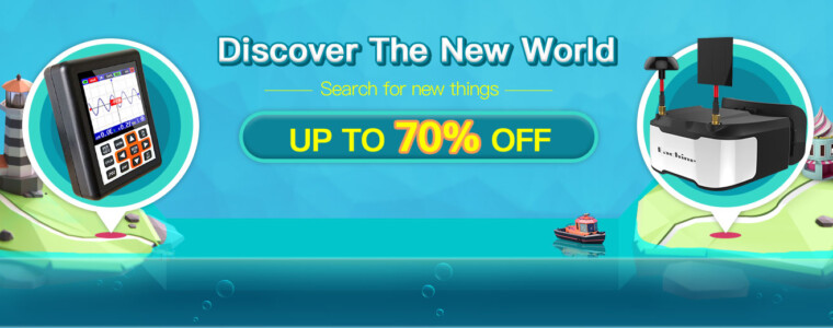 Up To 70% Off for Discover the New World Event