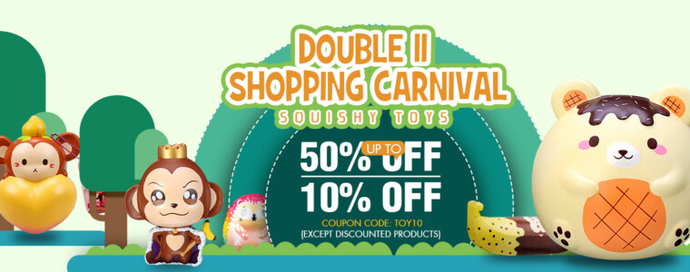 Collection Double 11 Shopping Carnival – Up To 50% Off, 10% Off Coupon (Code: toy10)