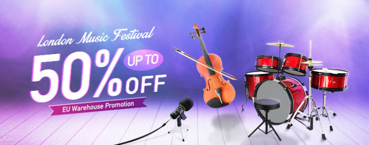Collection EU Warehouse Promotion London Music Festival   UP TO 50% off